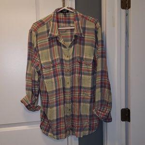 Chaps Tops - Light flannel shirt